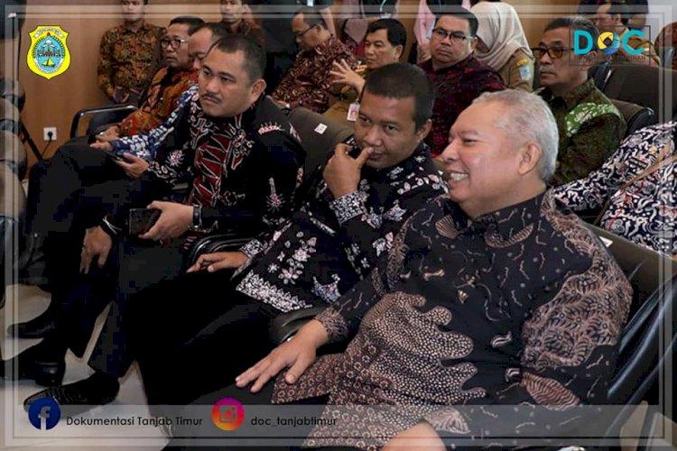 Bupati Tanjab Timur Hadiri Sertijab Kepala BPK Perwakilan Jambi