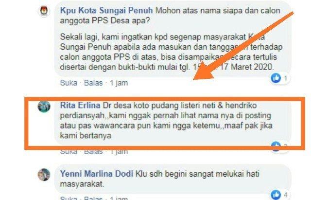 Diduga Loloskan PPS Tak Ikut Seleksi Wawancara, Kinerja KPU Kota Sungaipenuh Dipertanyakan