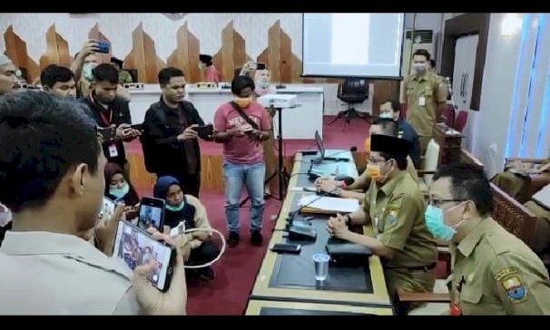 Pemerintah Jambi Tersandera Aturan, Riwayat Perjalanan Pasien Covid-19 Bisa Diumumkan Atas Seizin Keluarga