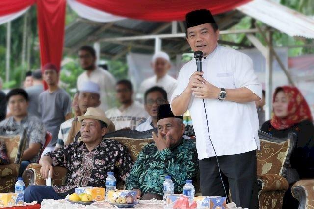 Bacagub Alharis Hentikan Sementara Agenda Politik, Minta Relawan Bantu Pencegahan Covid-19