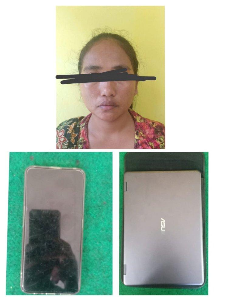 Nekat Curi Laptop di Puskesmas, IRT di Kerinci Ini Ditangkap Polisi